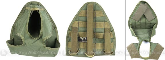 Pantac RAV Gas Mask Bag (OD)