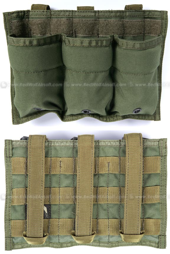PANTAC RAV Triple M16 Magazine (OD / CORDURA)  <font color=red>(HOLIDAY SALE)</font>
