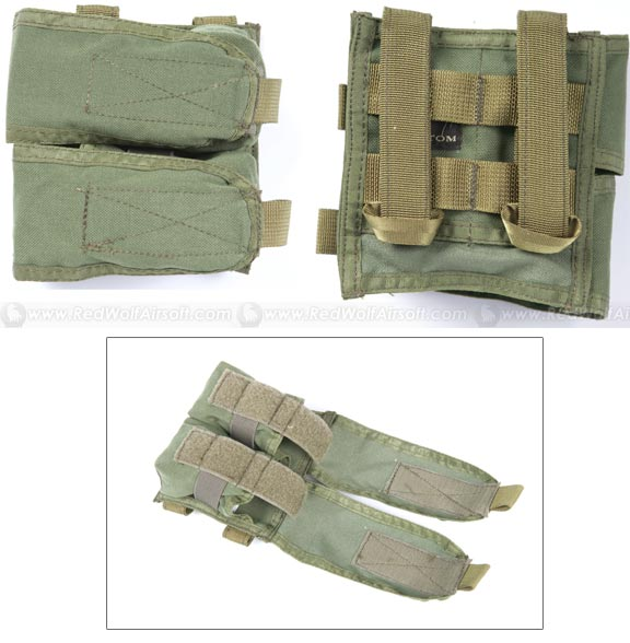 Pantac RAV Double Flash Bang Pouch (Right Open / Khaki)