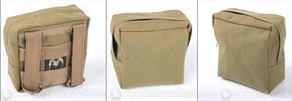 PANTAC RAV Small GP Pouch (Khaki / CORDURA)  <font color=red>(HOLIDAY SALE)</font>