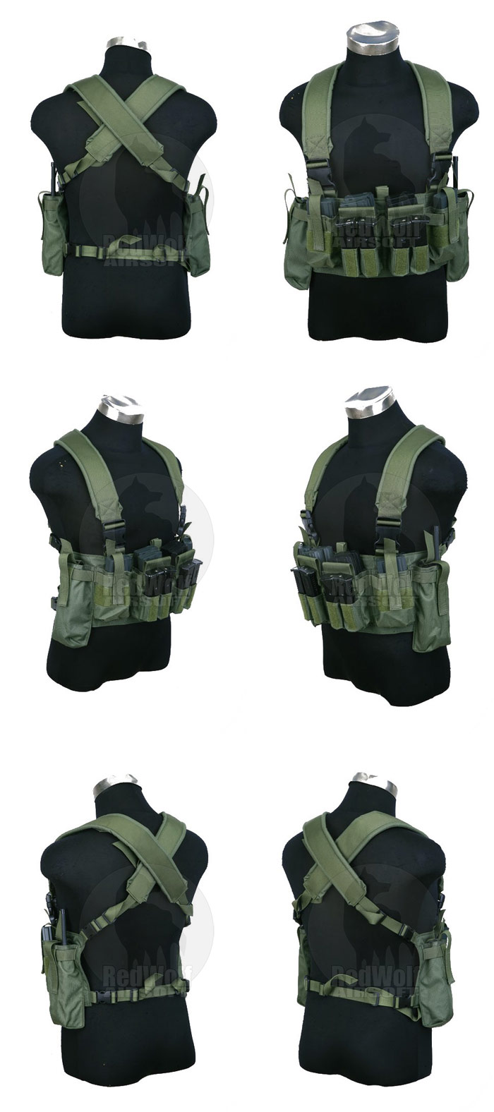 PANTAC M4 Tactical Chest Vest CORDURA (OD)
