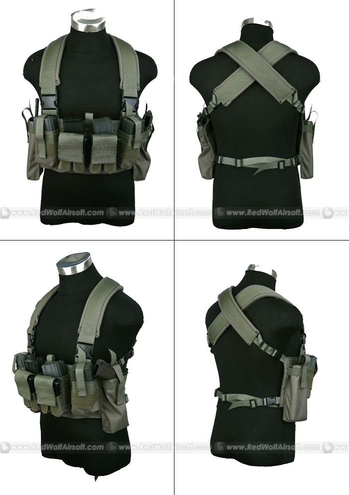PANTAC M4 Tactical Chest Vest (RG / CORDURA)
