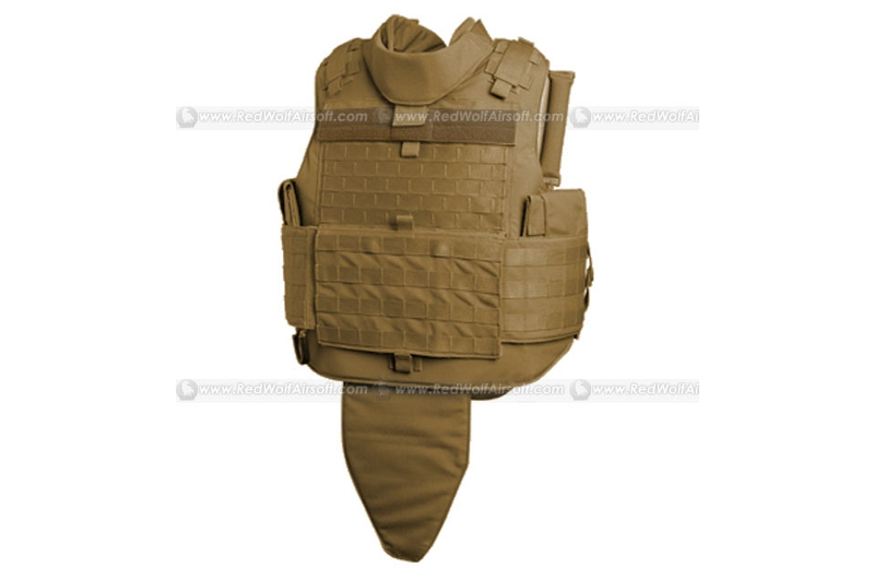 PANTAC MTV Body Armor (Medium / CB CORDURA) <font color=red>FREE SHIPPING</font>