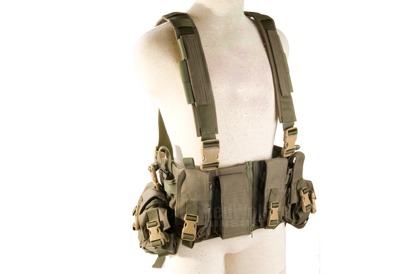 PANTAC MCR Tactical Chest Vest (Cordura / Ranger Green)