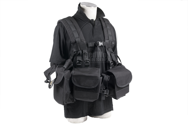 PANTAC SEALS 1195K GUNER Floating Harness (Cordura/Black)