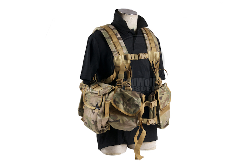 PANTAC SEALS 1195K GUNER Floating Harness (Cordura/Multicam) <font color=yellow>(Clearance)</font>