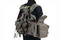 PANTAC SEALS 1195K GUNER Floating Harness (Cordura/Ranger Green)