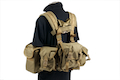 PANTAC SEALS 1195K GUNER Floating Harness (Cordura/Khaki)
