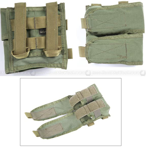 Pantac RAV Double Flash Bang Pouch (Left Open / OD)