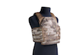 PANTAC Molle HPC Plate Carrier with Cummerbund (Medium / A-TACS / Cordura) - Deluxe Version