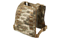 PANTAC Molle MBSS Plate Carrier (Large / A-TACS / Cordura) <font color=yellow>(Clearance)</font>