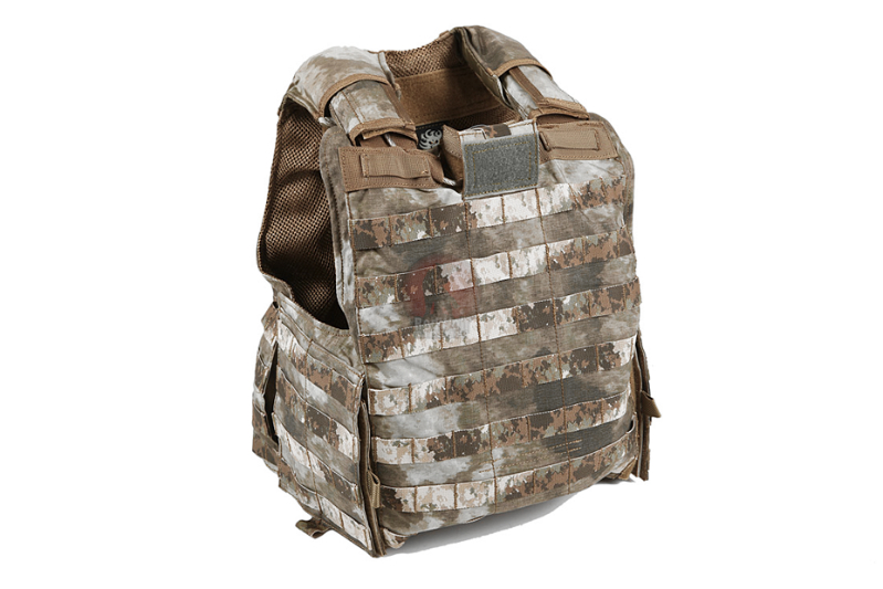 PANTAC Releaseable Molle Armor Marinetime Version (Large / A-TACS / Cordura) - Deluxe Version