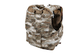 PANTAC Releaseable Molle Armor Marinetime Version Small (Small / A-TACS / Cordura) - Deluxe Version