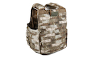 PANTAC Releaseable Molle Armor Cover Marinetime Version (Large / A-TACS / Cordura) - Deluxe Version