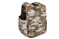 PANTAC Releaseable Molle Armor Marinetime Version, Armor Cover Only (X-Large / A-TACS / Cordura) <font color=yellow>(Clearance)</font>