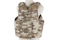 PANTAC Releaseable Molle Armor Land Version (Small / A-TACS / Cordura)