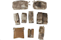 PANTAC Releaseable Molle Armor Land Version (X-Large / A-TACS / Cordura)