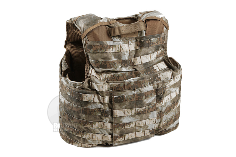 PANTAC Releaseable Molle Armor Land Version, Armor Cover Only (X-Large / A-TACS / Cordura)