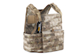 PANTAC Strike Plate Carrier ( Small / A-TACS / Cordura) - Deluxe Version