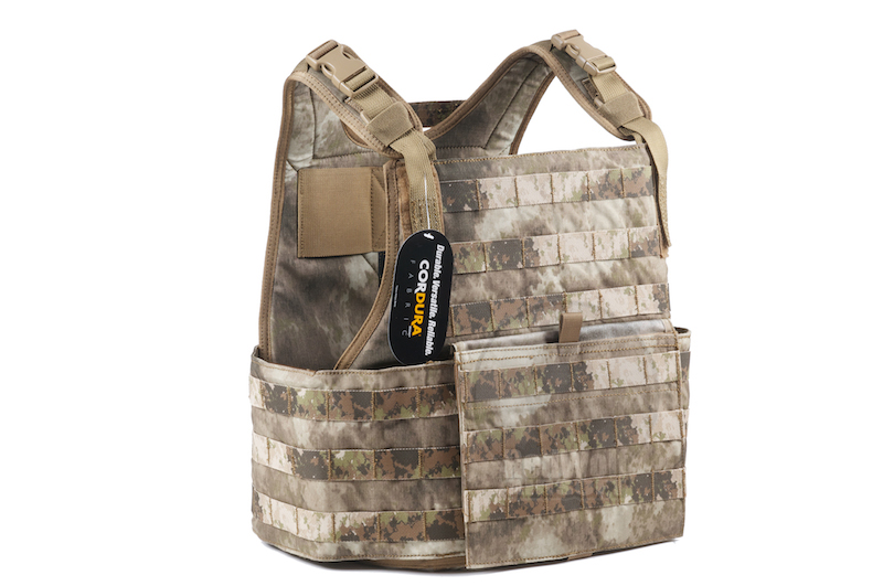 PANTAC Strike Plate Carrier ( Small / A-TACS / Cordura) - Deluxe Version <font color=yellow>(Clearance)</font>