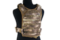 PANTAC Molle Tactical Plate Carrier (Medium / A-TACS / Cordura) <font color=yellow>(Clearance)</font>
