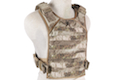 PANTAC Molle Tactical Plate Carrier (Large / Cordura / A-TACS) <font color=yellow> (Summer Sale)</font>