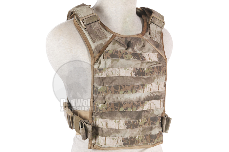 PANTAC Molle Tactical Plate Carrier (Medium / Cordura / A-TACS)
