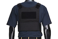 Warrior Assault Systems Covert Plate Carrier MK1 with Triple Velcro Mag Pouch - Black