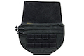 Warrior Assault Systems Drop Down Velcro Utility Pouch - Black