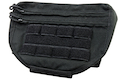 Warrior Assault Systems Drop Down Hook and Loop Utility Pouch - Black