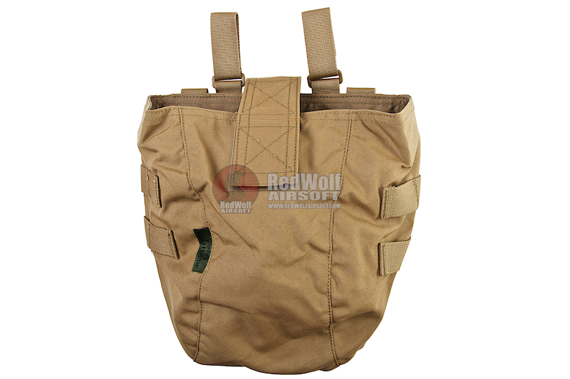 Warrior Assault Systems Large Roll Up Dump Pouch Gen 2 - Coyote Tan