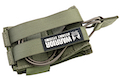 Warrior Assault Systems Single MOLLE Open AK 7.62mm Mag / Bungee Pouch - OD Green