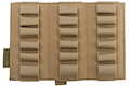 Warrior Assault Systems Triple Vertical Breaching Shotgun Panel - Coyote Tan