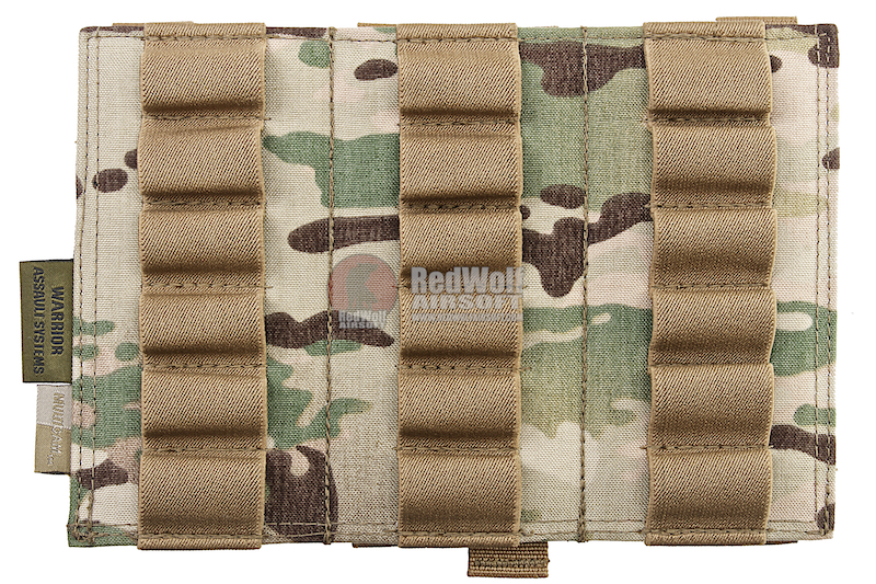 Warrior Assault Systems Triple Vertical Breaching Shotgun Panel - Multicam