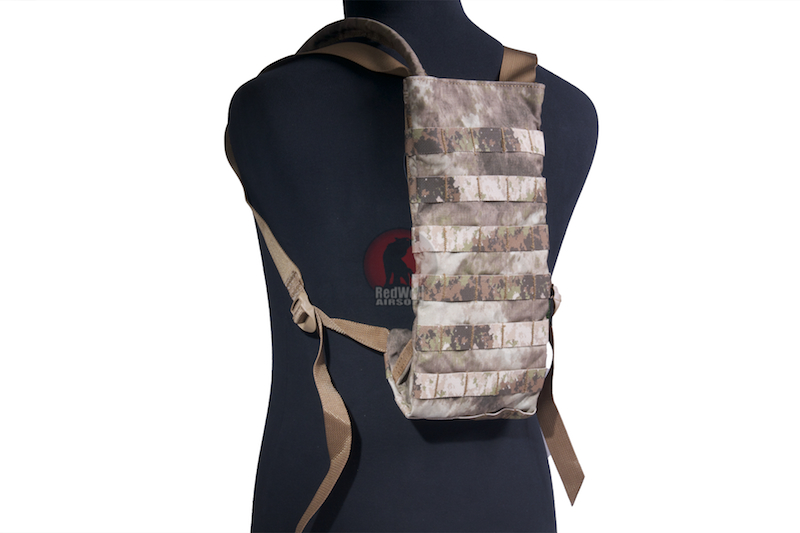 PANTAC Molle Compact Hydration Pack (A-TACS / Cordura) - Deluxe Version