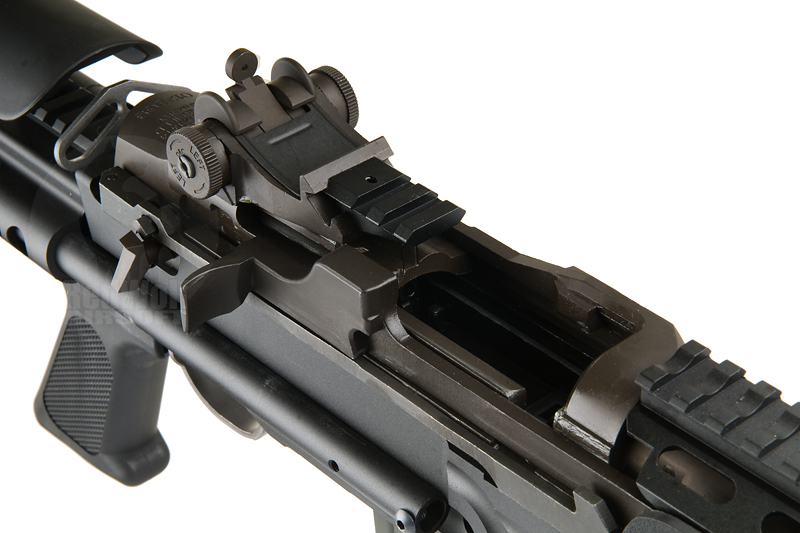 WE M14 EBR Gas Blowback Rifle (Black) - Buy airsoft GBB Rifles & SMGs online from RedWolf Airsoft