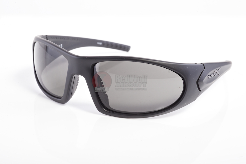 Wiley X ROMER 3 Two Lens Systems (Smoke / Clear) - Matte Black Frame