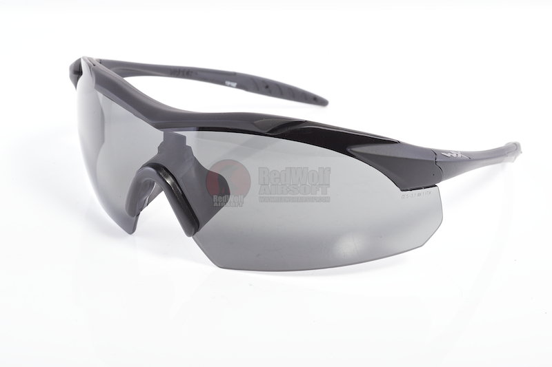 Wiley X Vapor Two Lens Systems (Grey / Clear) - Matte Black Frame