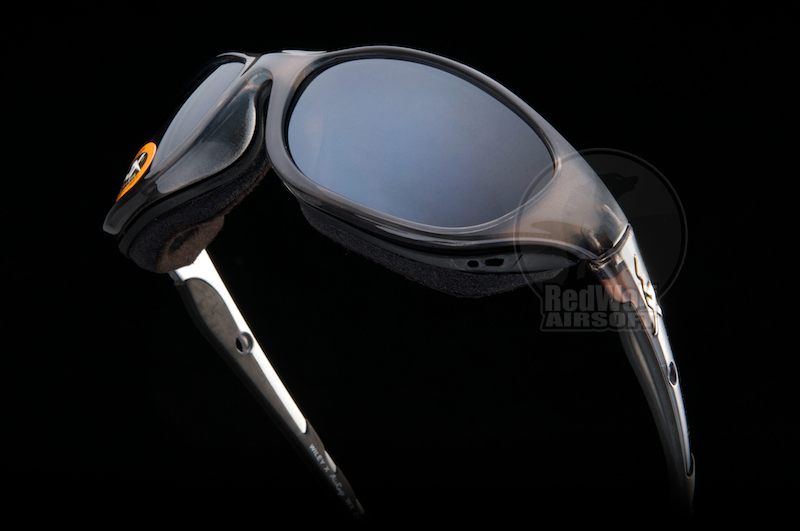 Wiley X Glasses - Air Rage (Polarized Silver/Crystal Metallic Frame)