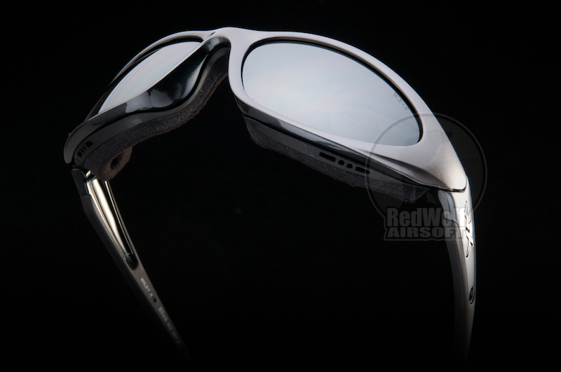 Wiley X Glasses - Blink (Silver Flash/Aluminum Gloss Frame)