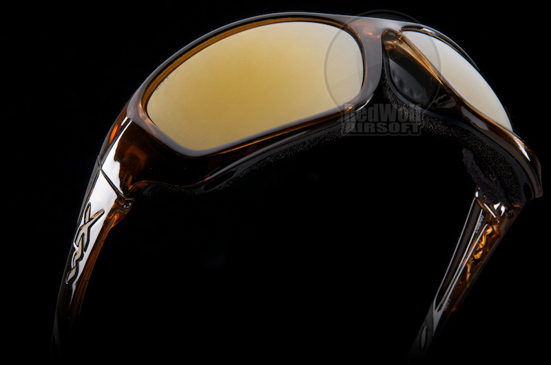 Wiley X Gravity (Bronze Flash Lens / Brown Crystal Frame)