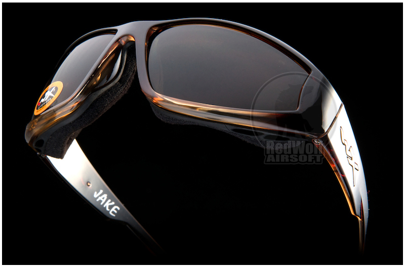 Wiley X Airborne with Light Adjusting Bronze Lens / Gloss Root Beer Frame (Climate Control)