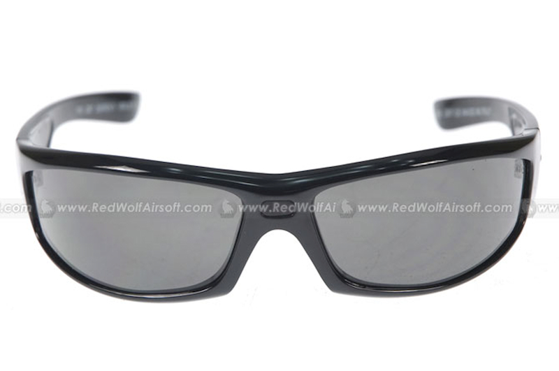 Wiley X Revolvr Gloss Black with Smoke Lens