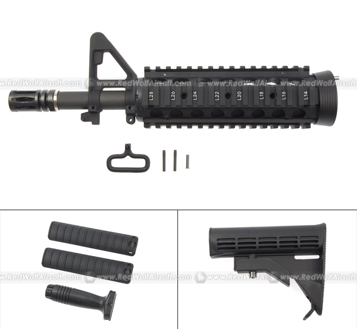 G&P RAS Front Set (Short) for Western Arms (WA) M4A1 CQB-R