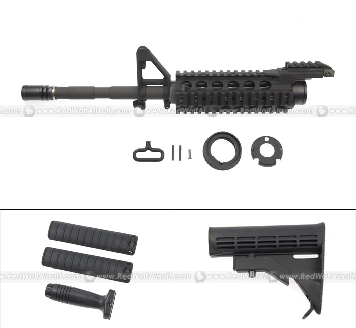 G&P RAS II Front Set (Long) for Western Arms (WA) M4A1 CQB-R