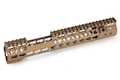 G&P GBB MOTS 12 inch Keymod MRE for G&P GBB Metal Body & WA M4A1 Series - Sand <font color=red>(HOLIDAY SALE)</font>