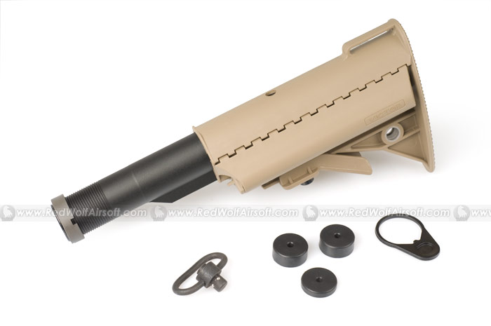 G&P Mod Buttstock for (WA) Western Arms M4 GBB (Sand)
