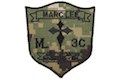 Warrior Navy Seal Marc Lee Crusader Cross Patch (AOR2)