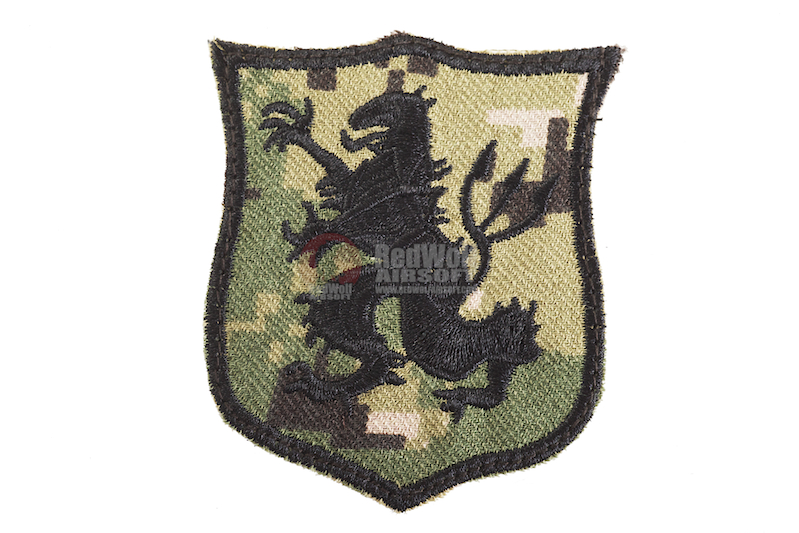 Warrior NSW Devgru Gold Team Lion Patch (AOR2)