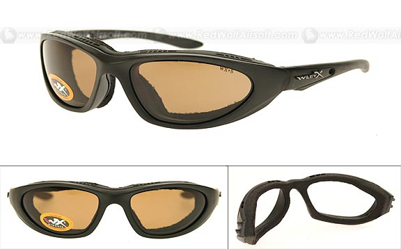 Wiley X Glasses - Blink (Polarized Copper/Matte Black Frame)